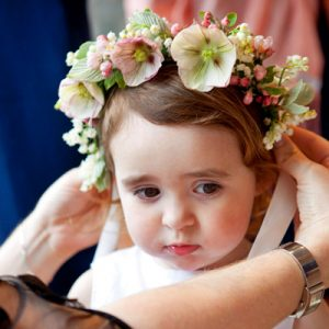 Child's flower crown