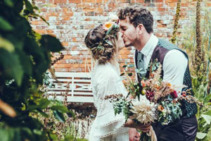 Wedding flowers by G&G