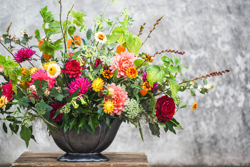 Vase arrangement by G&G
