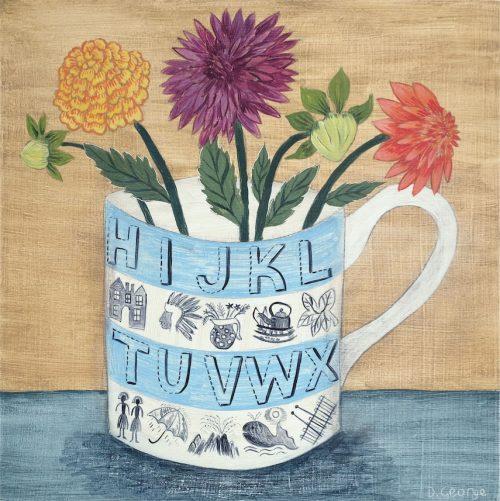 Debbie George Alphabet Mug