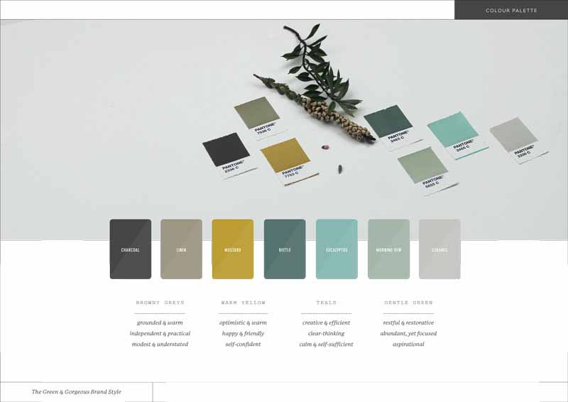 Styling my brand green and gorgeous flowers next up our new colour palette based on some of the keywords that came out of my brand blueprint caz has moved away from the obvious greens and seems to malvernweather Images
