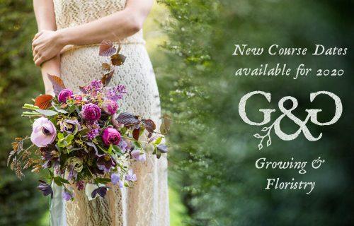 courses in flower growing & floristry