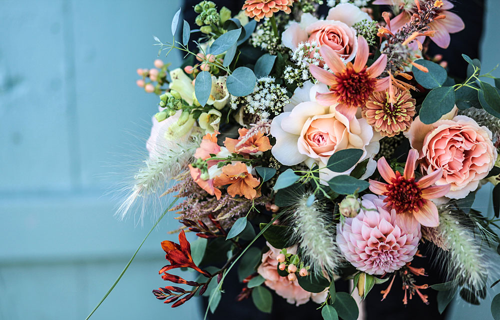 wedding flowers by Green and Gorgeous