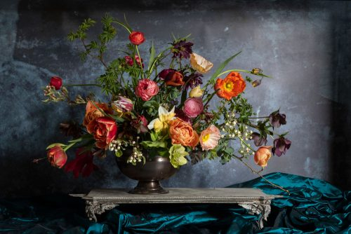 Dutch master of Spring flowers