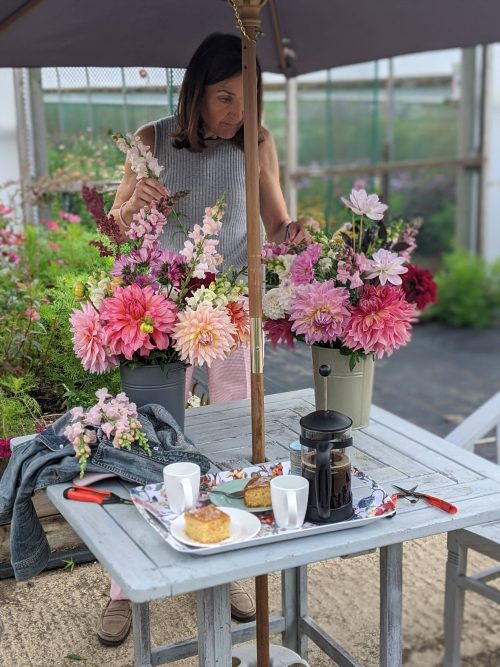 Pick Your Own cut flowers in Oxfordshire